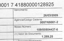 Boleto no valor de R$ 1.289,25 é cobrado pela Companhia de Engenharia de Tráfego (CET)
