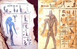 Túmulo encontrado no Egito